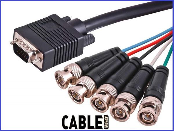 High Quality Custom Cable Looms – HDMI & SCSI & VGA & KVM CABLE2019111204 – Qidi CN Featured Image